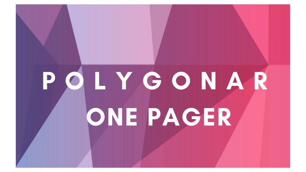 Polygonar One Pager - Informationen zum kostenlosen Download auf einer Seite