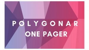 Polygonar One Pager